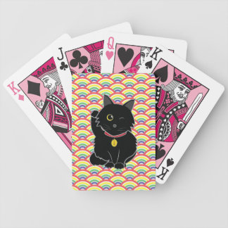 黒猫のZeldaの幸運なトランプ バイスクルトランプ
