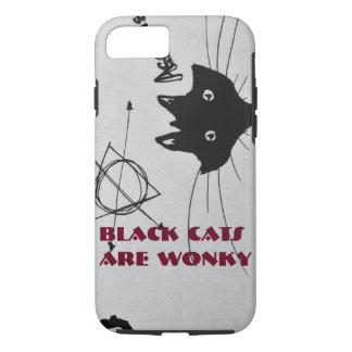 黒猫はあぶなっかしいPhonecaseです iPhone 8/7ケース