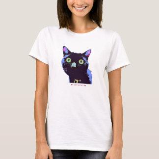黒猫クラブTシャツのスタイル Tシャツ