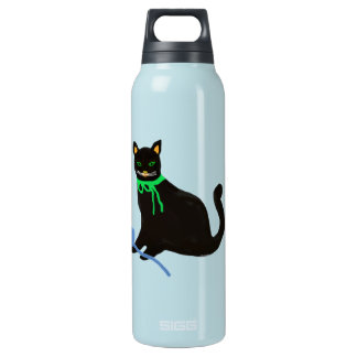 黒猫ヤーンの演劇 断熱ウォーターボトル