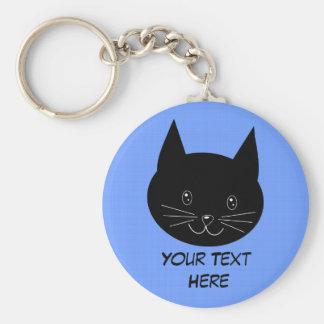 黒猫 キーホルダー