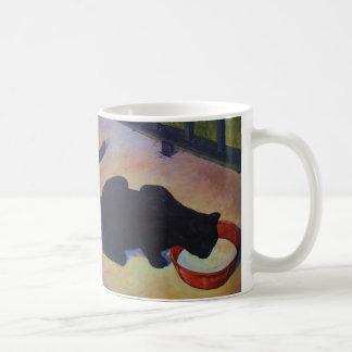 黒猫 コーヒーマグカップ