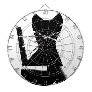 黒猫 ダーツボード