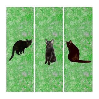 黒猫 トリプティカ