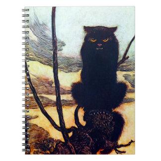 黒猫 ノートブック