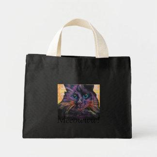 黒猫 ミニトートバッグ