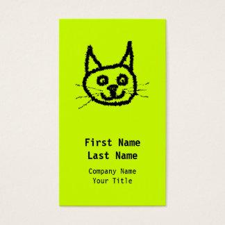 黒猫 名刺