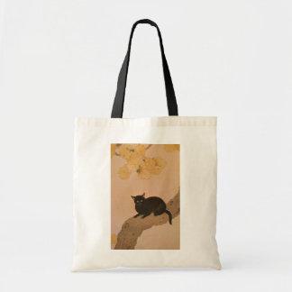 黒猫、春草の黒猫、Shunsō トートバッグ