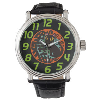 黒猫 腕時計