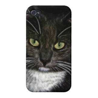 黒猫 iPhone 4 COVER