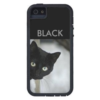 黒猫 iPhone SE/5/5s ケース