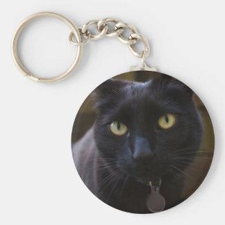 黒猫Keychain キーホルダー