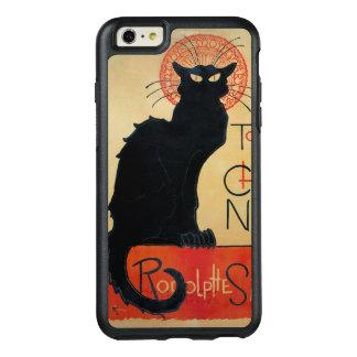 黒猫Steinlenアールヌーボー オッターボックスiPhone 6/6s Plusケース