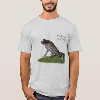 黒目のくずカエルのTシャツ Tシャツ