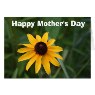 黒目のスーザンの母の日カード カード