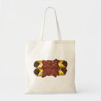 黒豆のチーズエンチラーダエンチラーダのTex Mexのバッグ トートバッグ