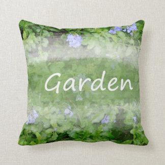 黒鉛の花の薮の園芸の庭の単語 クッション