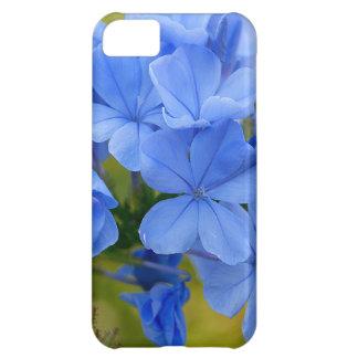 黒鉛-青い夏の花の写真 iPhone5Cケース