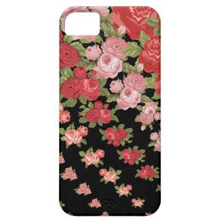 黒電話箱の憶病なバラ iPhone SE/5/5s ケース