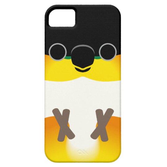 黒頭のシロハラインコ iPhone 5 カバー