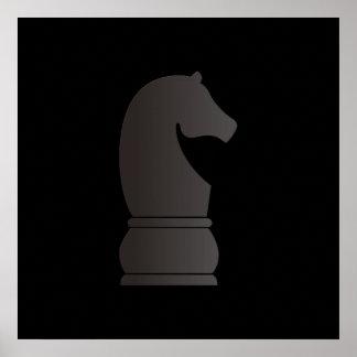 黒騎士の駒 ポスター