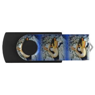 黒髪の人魚の青 USBフラッシュドライブ