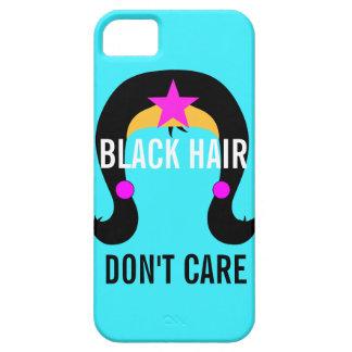 黒髪は女の子のスーパーヒーローの漫画本を気にしません iPhone SE/5/5s ケース