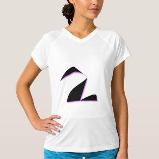 黒鳥の抽象芸術 Tシャツ