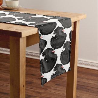 黒鳥 ショートテーブルランナー