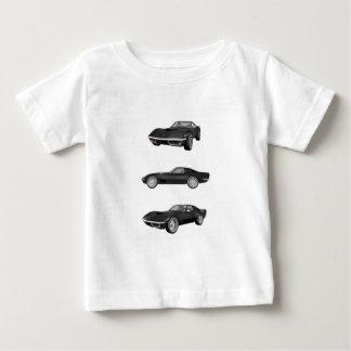 黒1970年のコルベット: ベビーTシャツ