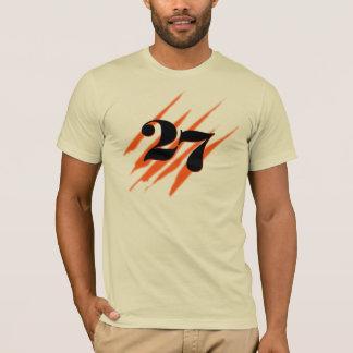 黒27 (スラッシュ) Tシャツ