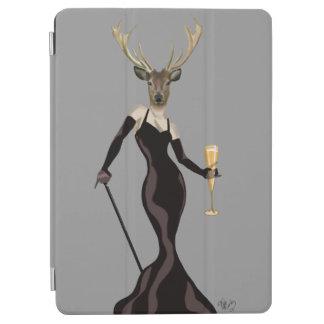 黒3の魅力のシカ iPad AIR カバー