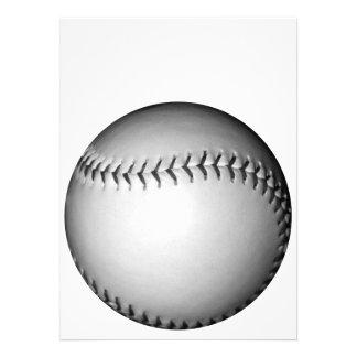 黒 ステッチ ソフトボール 野球 カスタム案内状