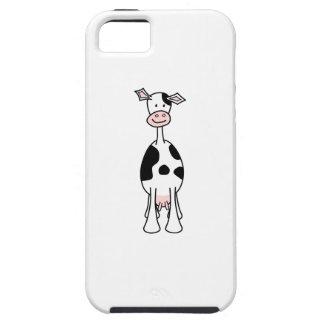 黒 白い 牛 漫画 前部 Case-Mate iPhone 5 ケース