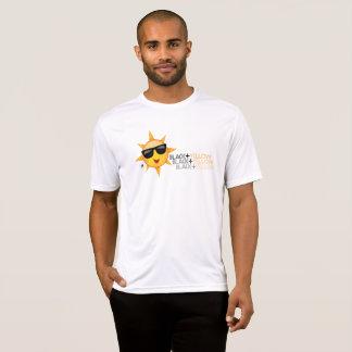 黒 + 黄色いデザインのTシャツ Tシャツ