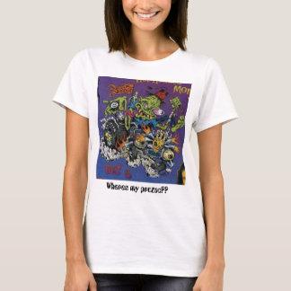 黒、Wheres私のプロザックか。か。 Tシャツ