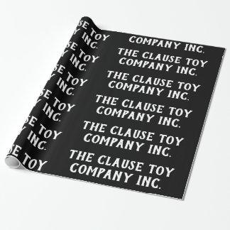 黒Clause Toy Company株式会社 ラッピングペーパー