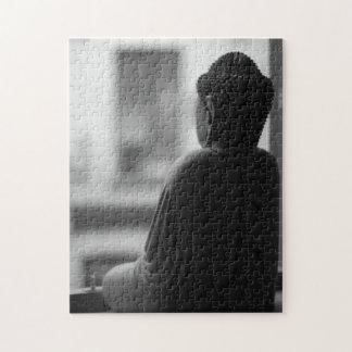 黙想に坐っている仏 ジグソーパズル
