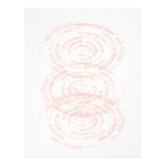 黙想の曼荼羅: グラフィック・デザイン レターヘッド