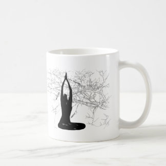 黙想の朝のコップ コーヒーマグカップ