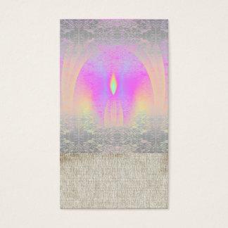 黙想の虹のクラスのヨガの名刺 名刺