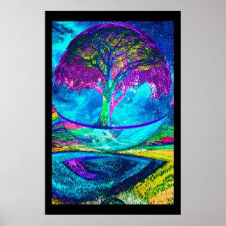 黙想生命の樹 ポスター