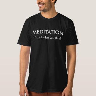 黙想: それは|のTシャツを考えるものではないです Tシャツ