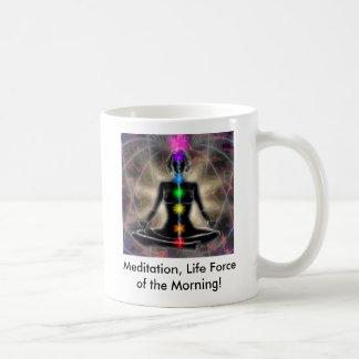 黙想、曉の生命力… コーヒーマグカップ