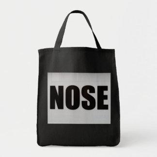 鼻 トートバッグ