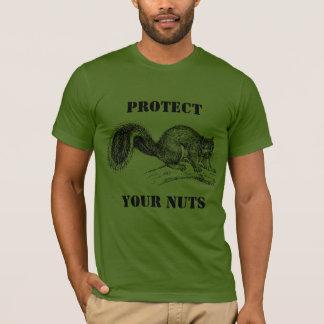 齧歯動物か人はあなたのナット#4を保護します Tシャツ