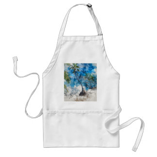 龍涎香Cayeベリセのヤシの木 スタンダードエプロン