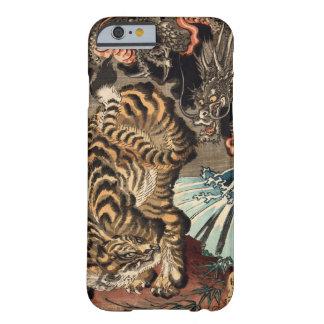 龍虎、国芳のトラ及びドラゴン、Kuniyoshi、Ukiyo-e Barely There iPhone 6 ケース