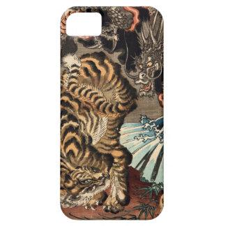 龍虎、国芳のトラ及びドラゴン、Kuniyoshi、Ukiyo-e iPhone SE/5/5s ケース