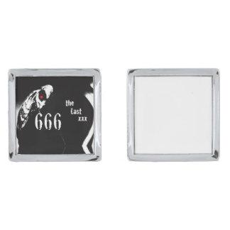 666 カフスボタン シルバー カフスボタン